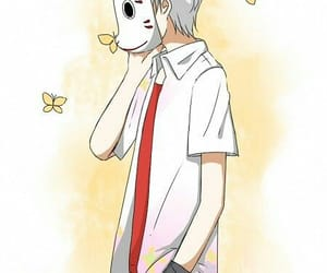 hotarubi no mori e, anime, and boy image