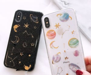 galaxy, planets, and sky image