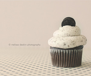 chocolate cupcake, sweet treat, and cupcake image