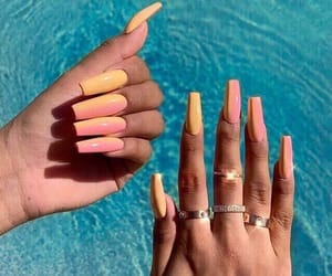 acrylics, girly, and goals image