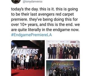 Marvel, mcu, and avengers endgame image