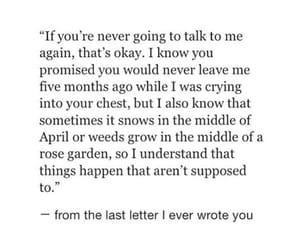 broken, broken heart, and Letter image