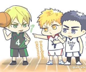 anime, kuroko no basket, and kawaii image