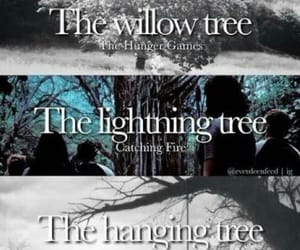 mockingjay, hangingtree, and hungergames image