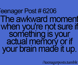 memory and teenager post image