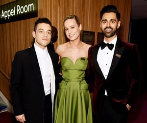 fashion, red carpet, and brie larson image