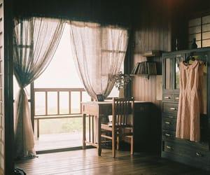 room, vintage, and dress image