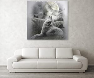 canvas, fine art prints, and grayscale image