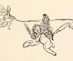 angel, art, and arthur rackham image