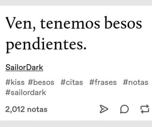 amor, sailordark, and Besos image