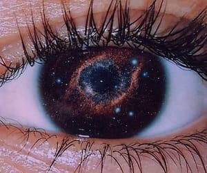 galaxy, art, and eye image