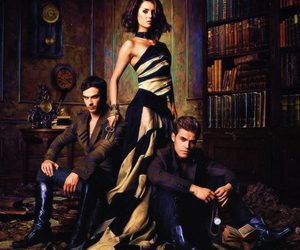 diaries, vampire, and ian somerhalder image