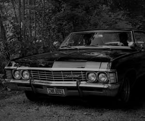 supernatural, impala, and car image