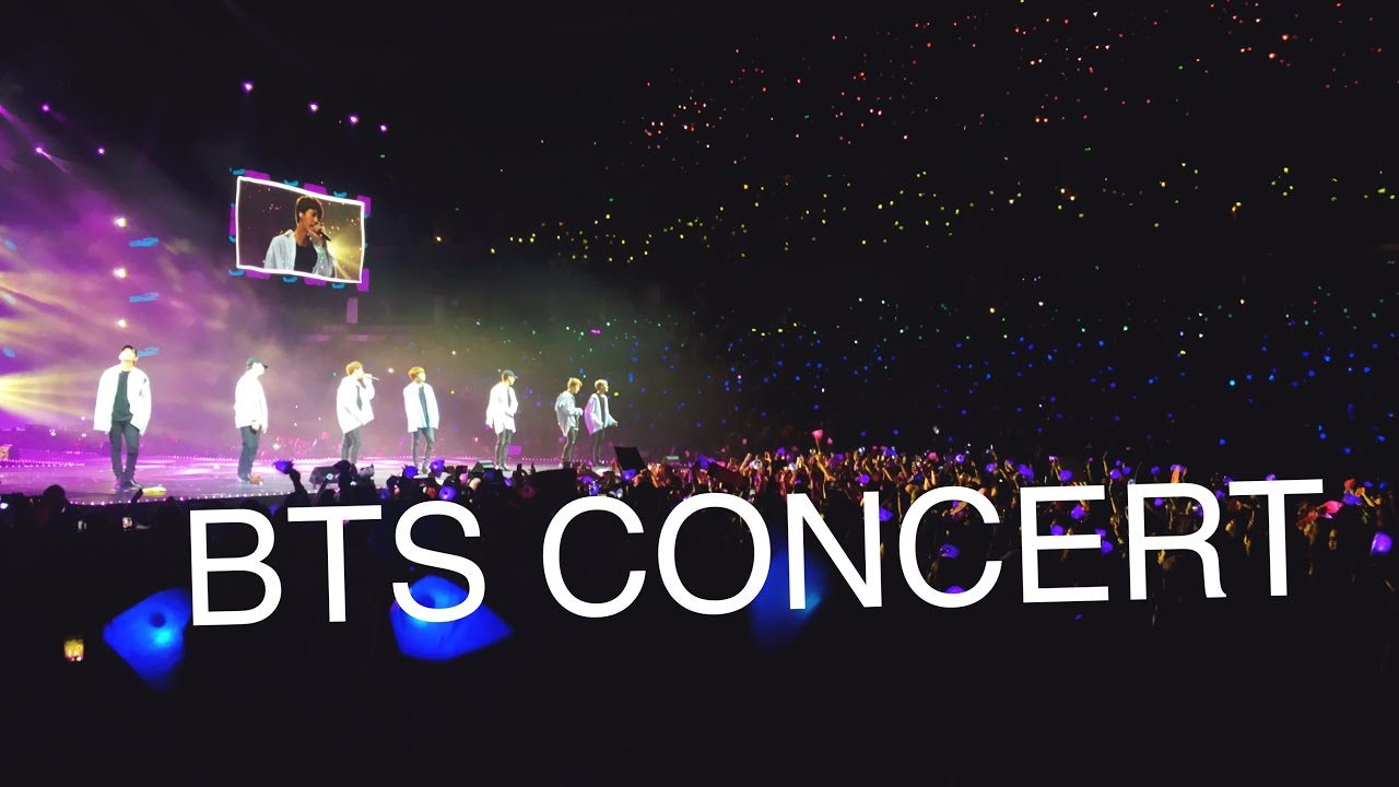 things to do when you go to a BTS concert on We Heart It