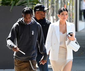 aesthetic, kylie jenner, and travis scott image