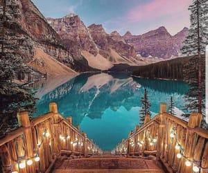 travel, nature, and lake image