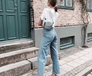 blue, chic, and denim image