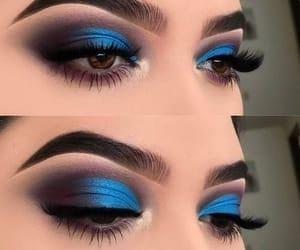 amazing, blue, and lashes image