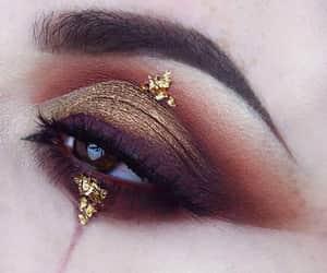 eyeshadow, make up, and maquillaje image