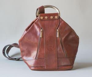 etsy, shoulder bag, and italian leather bag image