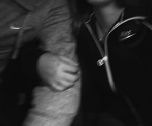 baby, black&white, and boyfriend image