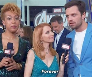 Avengers, Marvel, and winter soldier image