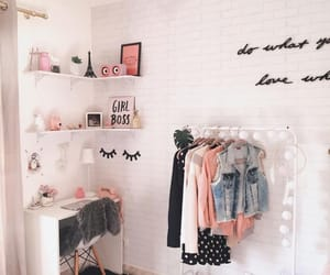 room, decor, and girly image