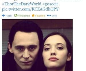 Kat Dennings and tom hiddleston image