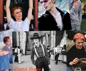 bowie, david bowie, and young image