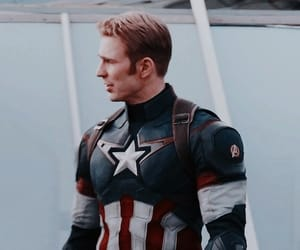 captain america, header, and iron man image