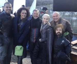 behind the scenes, got, and game of thrones image