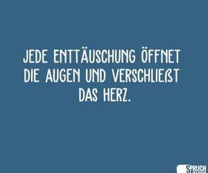 Augen, deutsch, and herz image