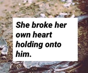 broken heart, crying, and heartbreak image