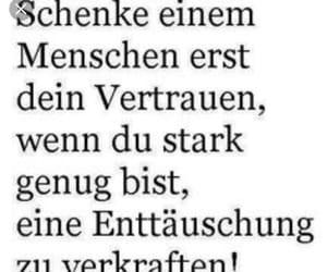 deutsch, sprüche, and enttäuscht image
