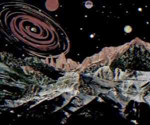 aesthetic, space, and art image