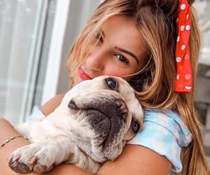 girl, animals, and blonde image