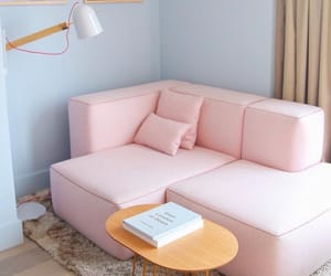 Dream, pink, and room image
