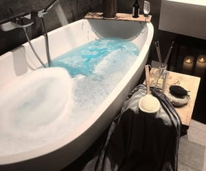 luxury, relax, and bath image