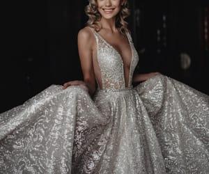 fashion, dress, and wedding image
