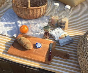 aesthetic, picnic, and bread image
