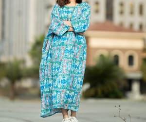 blue dress, etsy, and women dress image