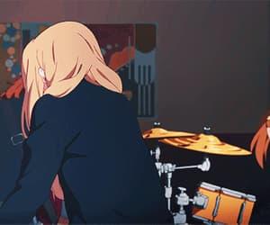 anime, akiyama mio, and gif image