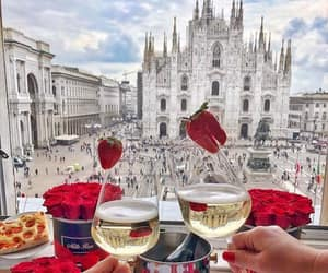 champagne, food, and italy image