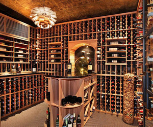 awesome, room, and wine image