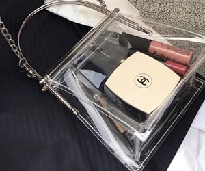 bag, chanel, and makeup image