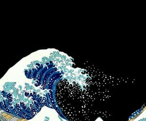 wallpaper, ocean, and waves image
