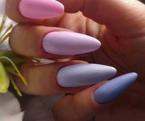pink, fashion, and nails image