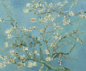 art, vangogh, and almondblossoms image