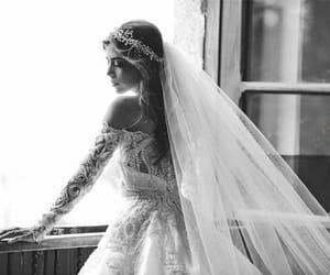 bride, elegance, and photo image