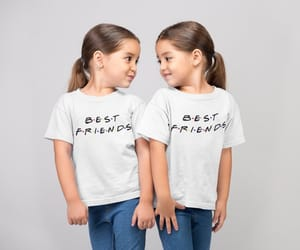 etsy, best friends tee, and friends tv show tee image